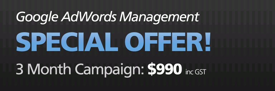 AdWords Special Offer