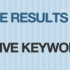 Positive Results From Negative Keywords